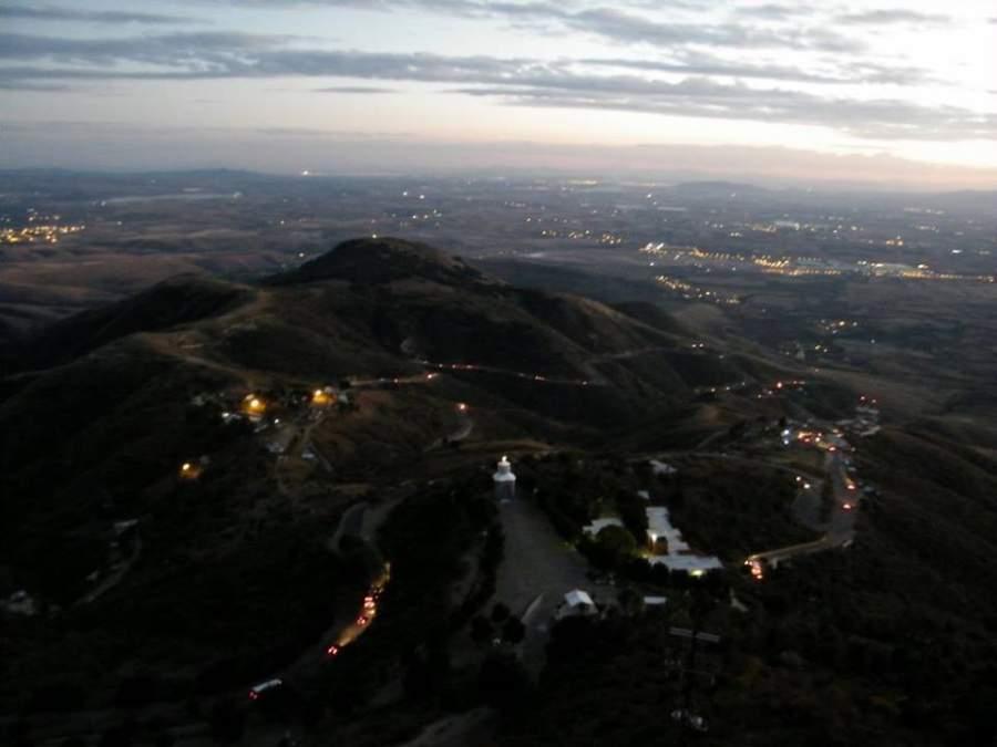 Vista de Silao en la región del Bajío Mexicano