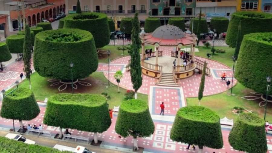 Parque central de Silao, Guanajuato