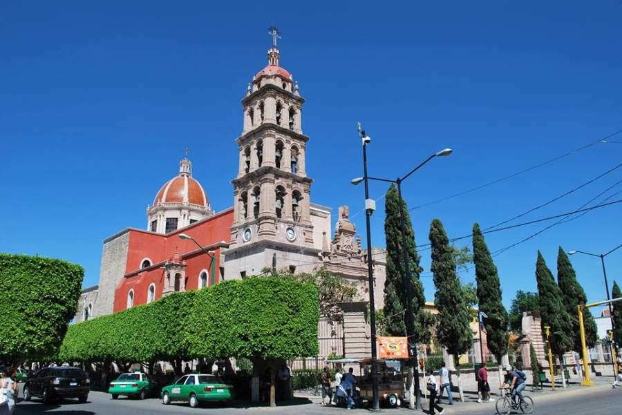 Centro de la ciudad de Silao