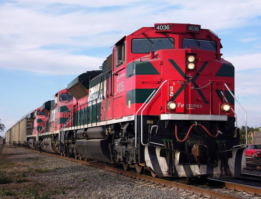Ferrocarril Ferromex en Monclova, Coahuila