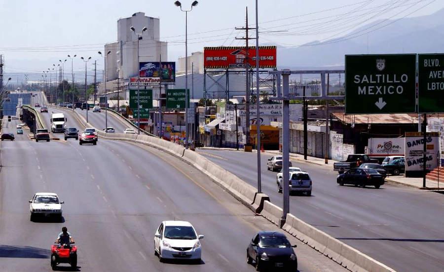 Avenida principal de Monclova, Coahuila