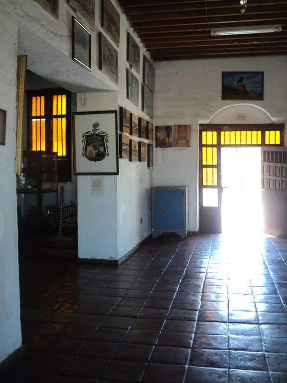 Interior del museo El Polvorín en la ciudad de Monclova