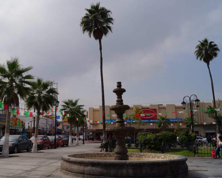 Plaza en el centro de Monclova