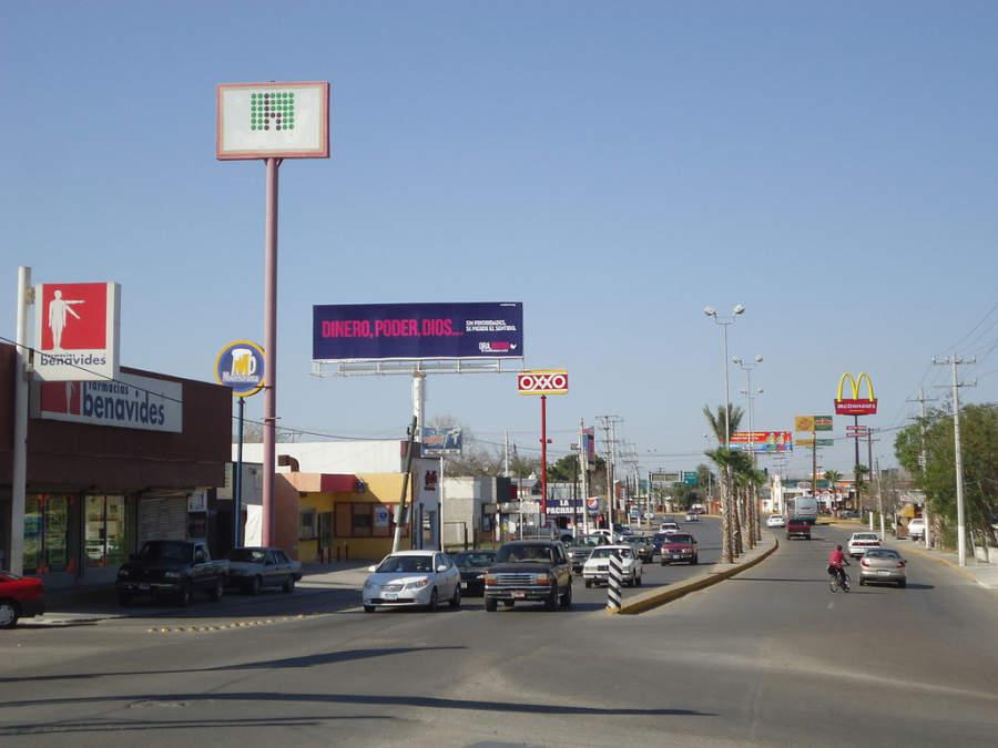 Piedras Negras es una ciudad fronteriza del estado de Coahuila