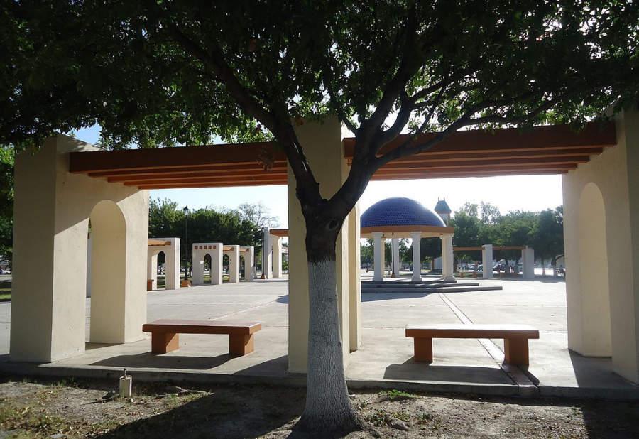La Macroplaza I es un sitio para hacer actividades al aire libre en Piedras Negras