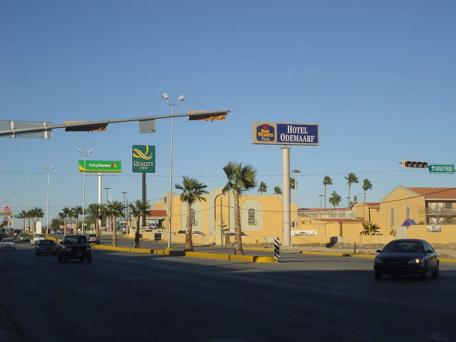 Piedras Negras es una ciudad con varios hoteles