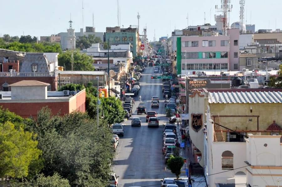 Centro de la ciudad de Nuevo Laredo