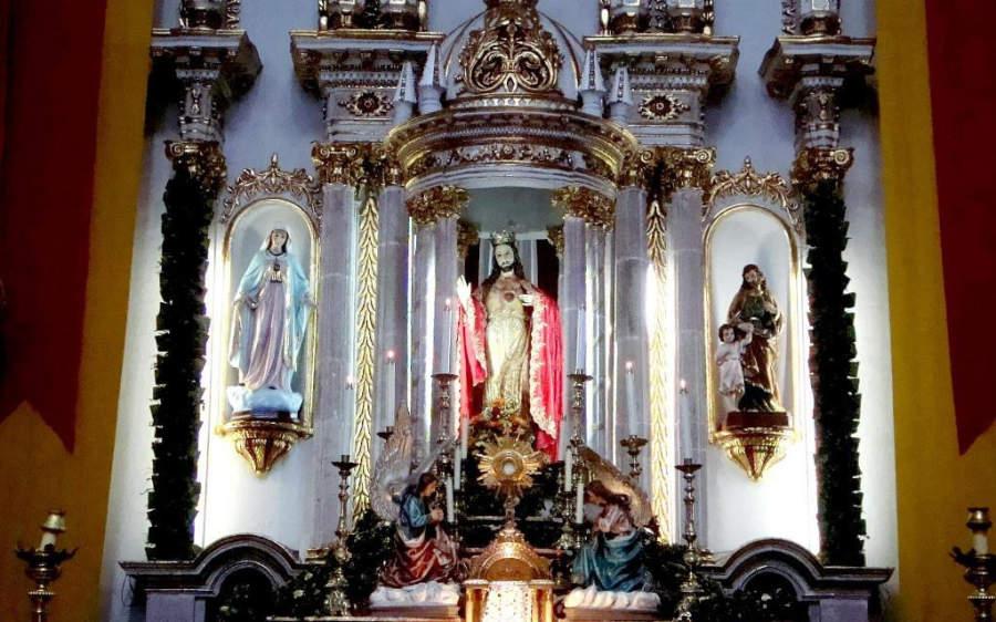 Interior de la Catedral de San Miguel Árcangel