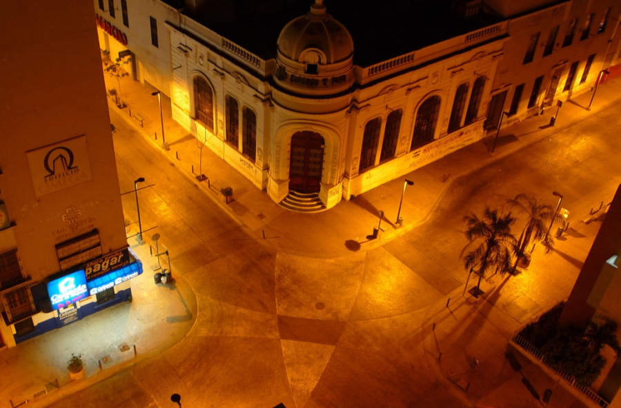 Vista panorámica del centro de Culiacán