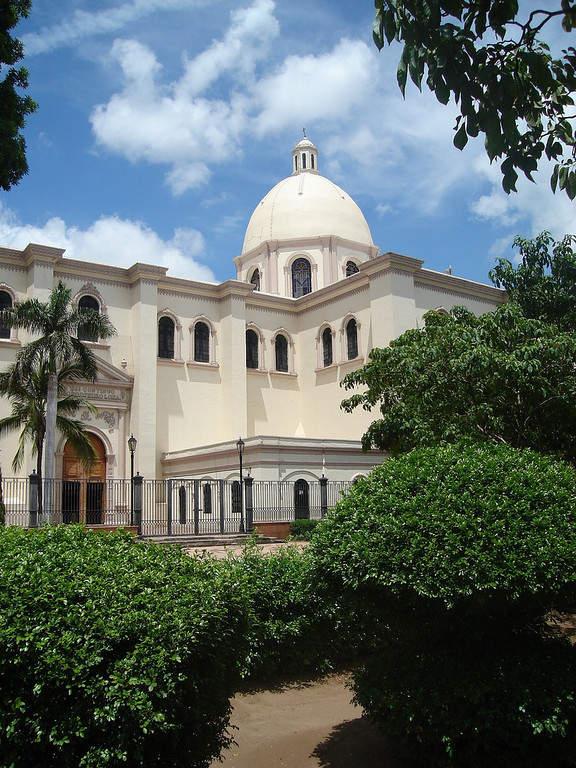 Arquitectura estilo colonial en el centro de Culiacán