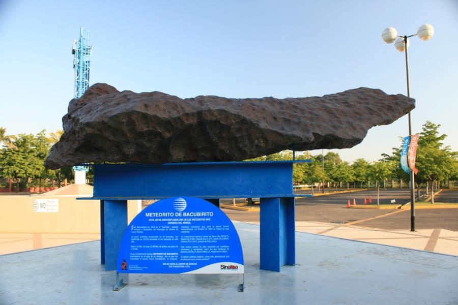 Meteorito de Bacubirito en Culiacán