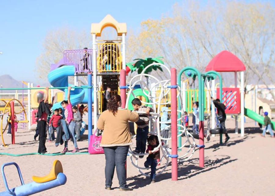 Delicias cuenta con diversos parque infantiles