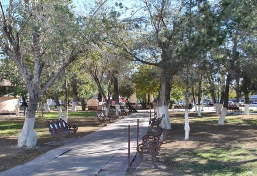 Parque principal de Delicias, Chihuahua