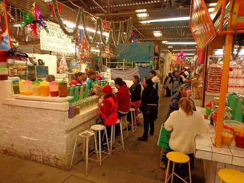 Interior de un mercado en Salamanca
