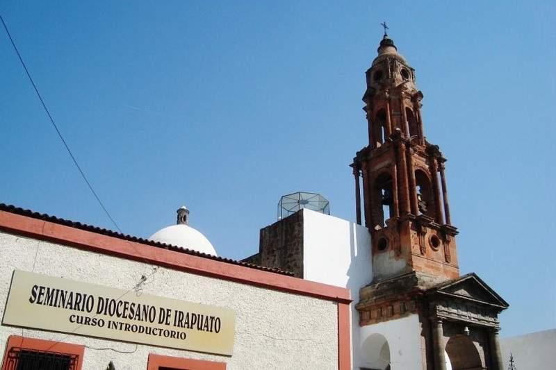 Templo de las Tres Caídas en Salamanca, Guanajuato