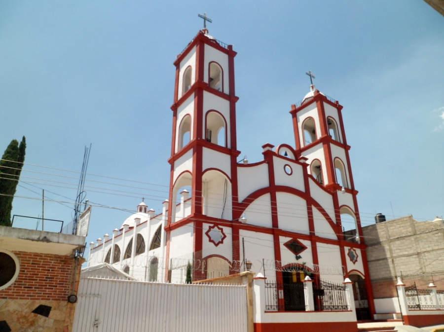 Templo de Santa Catarina en Ixtapan de la Sal