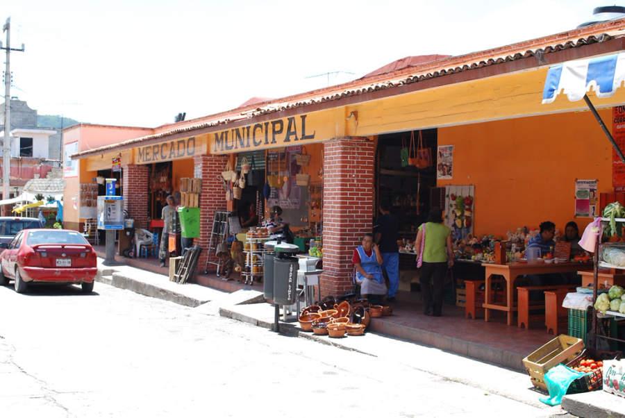Mercado municipal de Ixtapan de la Sal
