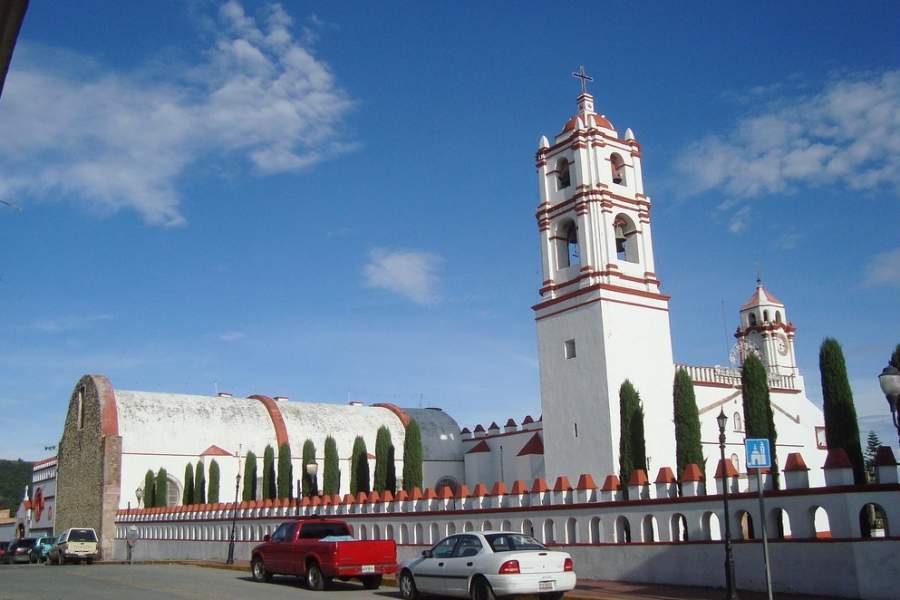 Parroquia de la Asunción de María en Ixtapan de la Sal