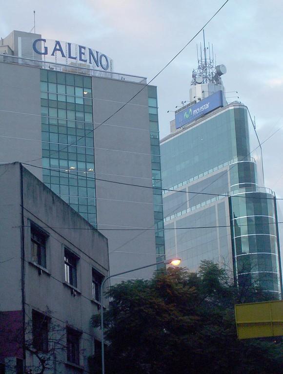 Torres del ECIPSA Center y Galeno