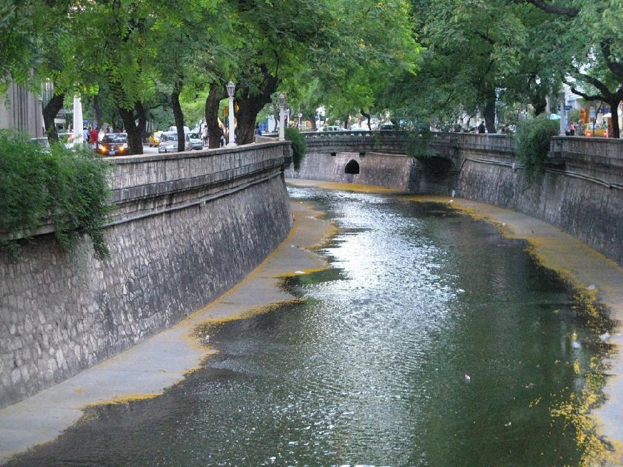 Arroyo La Cañada, centro de Córdoba
