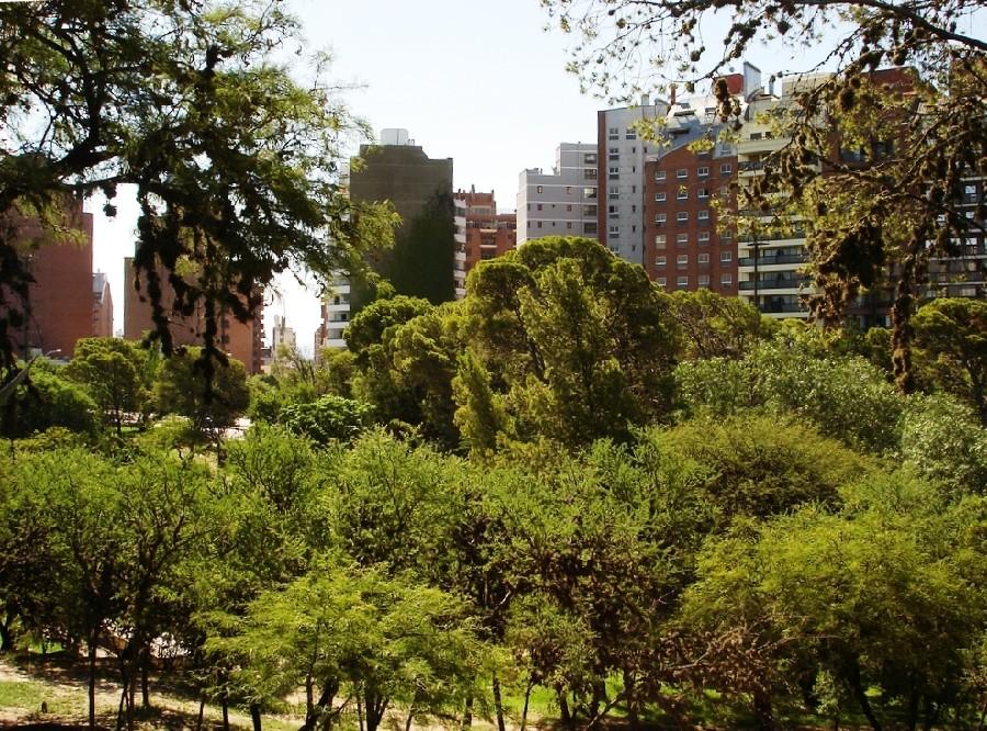 Parque Sarmiento en Córdoba