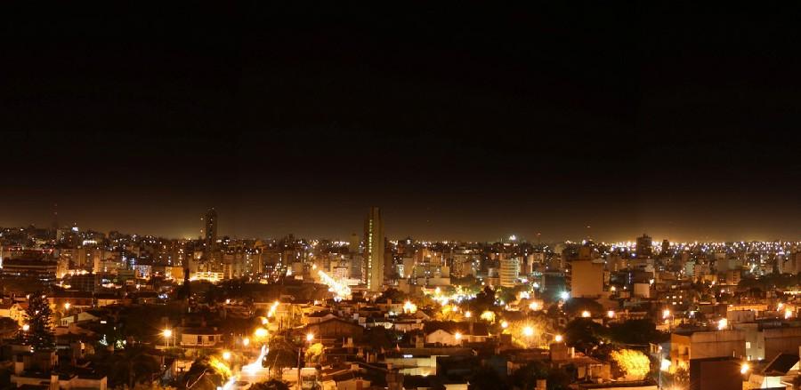 Vista panorámica de Córdoba, Argentina