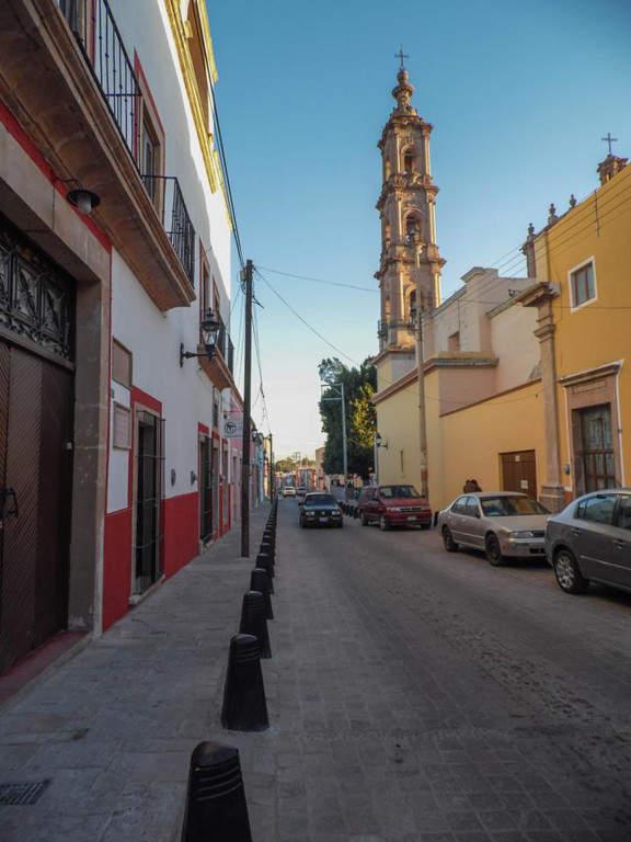 Calle de la Merced en Lagos de Moreno