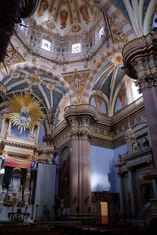Interior de la Parroquia de Nuestra Señora de la Asunción