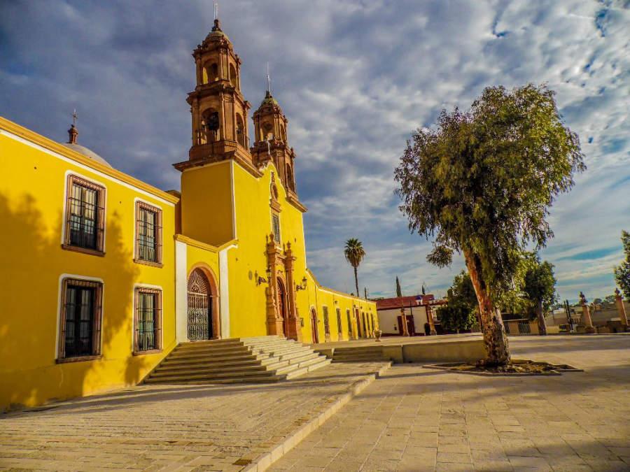 Templo del Refugio en Lagos de Moreno, Jalisco
