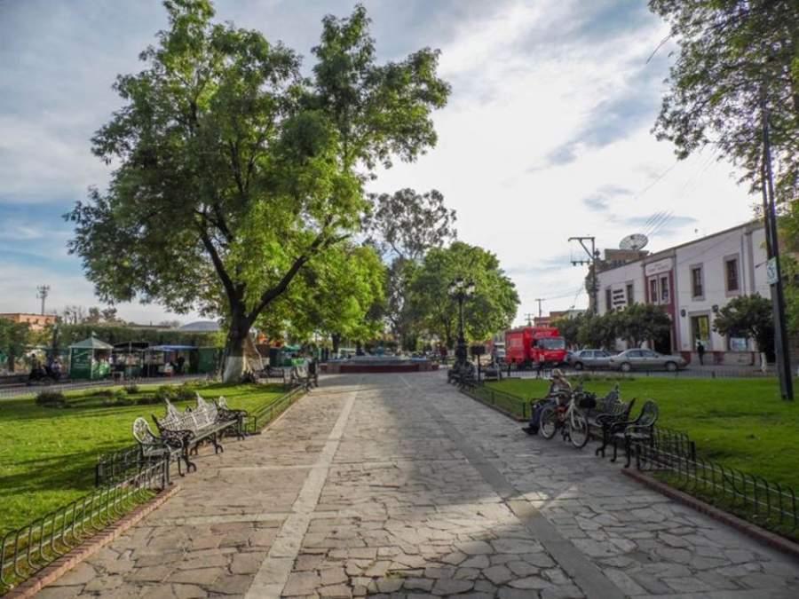 Plaza Constituyentes en Lagos de Moreno, Jalisco
