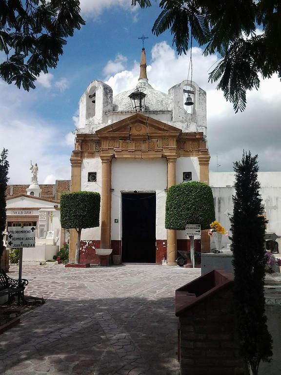 Capilla del Campo Santo de la Soledad en Lagos de Moreno