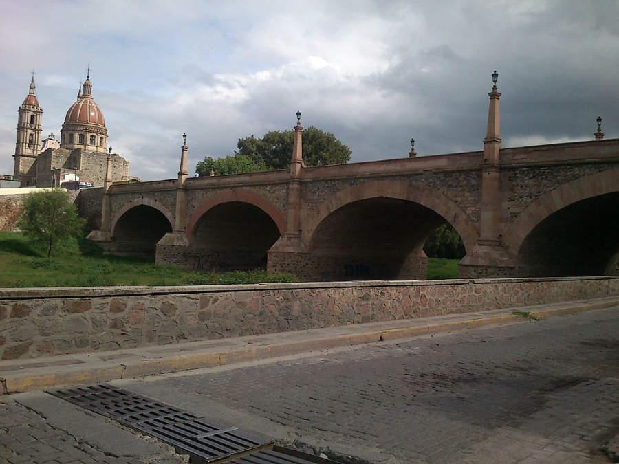 Puente en Lagos de Moreno, perteneciente al Camino Real de Tierra Adentro