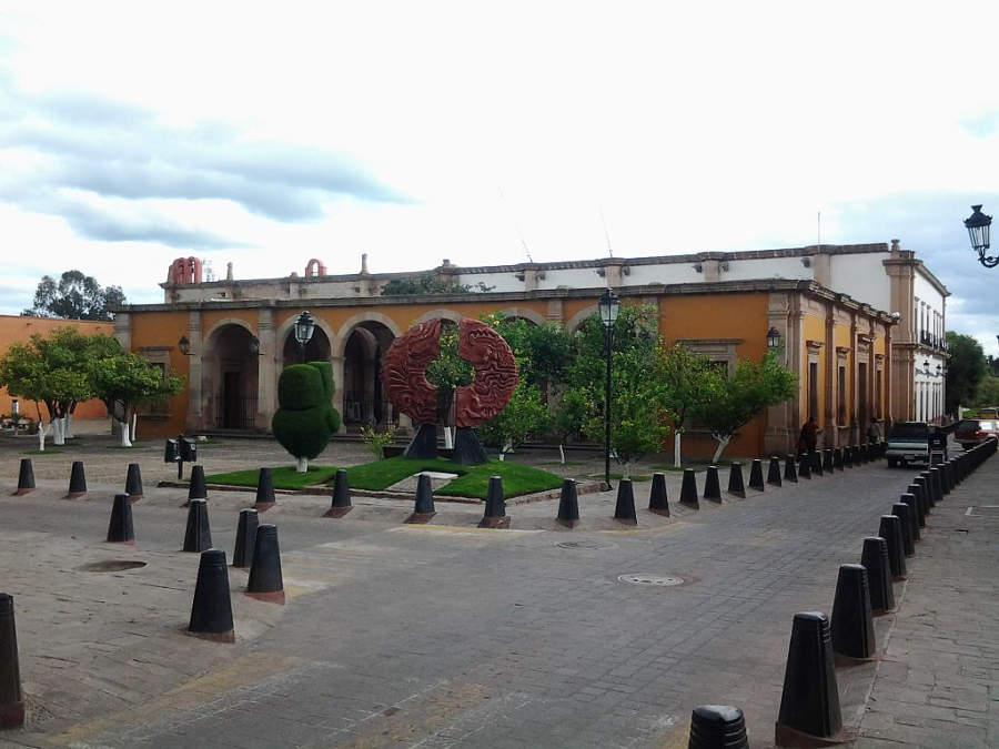 Escuela de Artes y Oficios en el centro de Lagos de Moreno