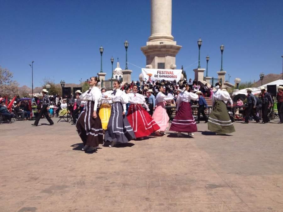 Festival en el pequeño pueblo de Bocoyna, Chihuahua