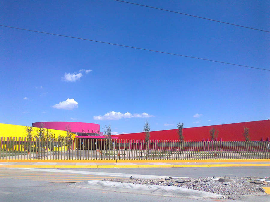 Edificio del CRIT en Gómez Palacio