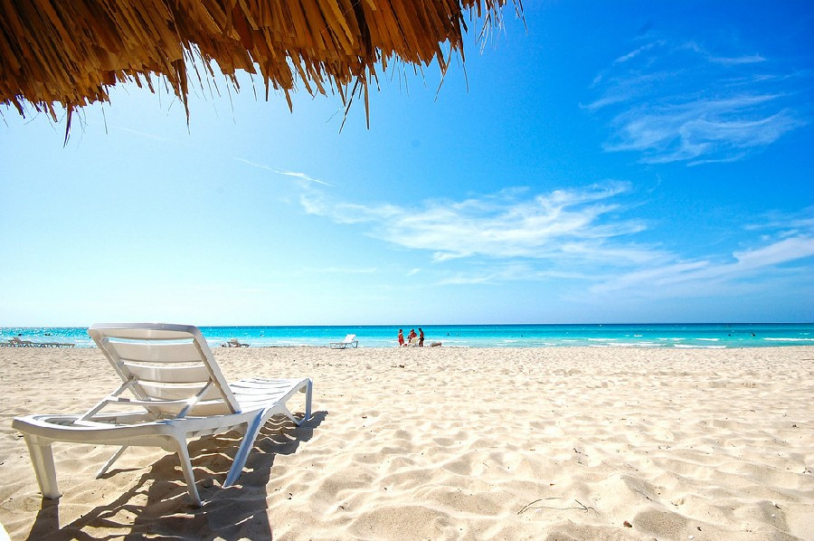 Varadero tiene 21 km de playa
