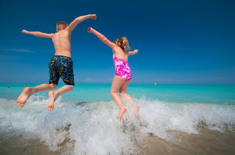 Sus playas son ideales para familias