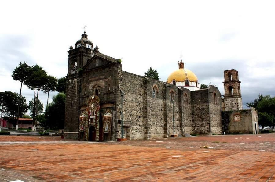 Templo de San Esteban, su construcción data del siglo XIX