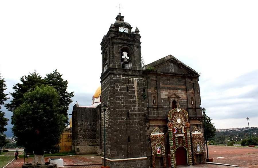 Templo de San Esteban, una de las atracciones de San Esteban Tizatlán