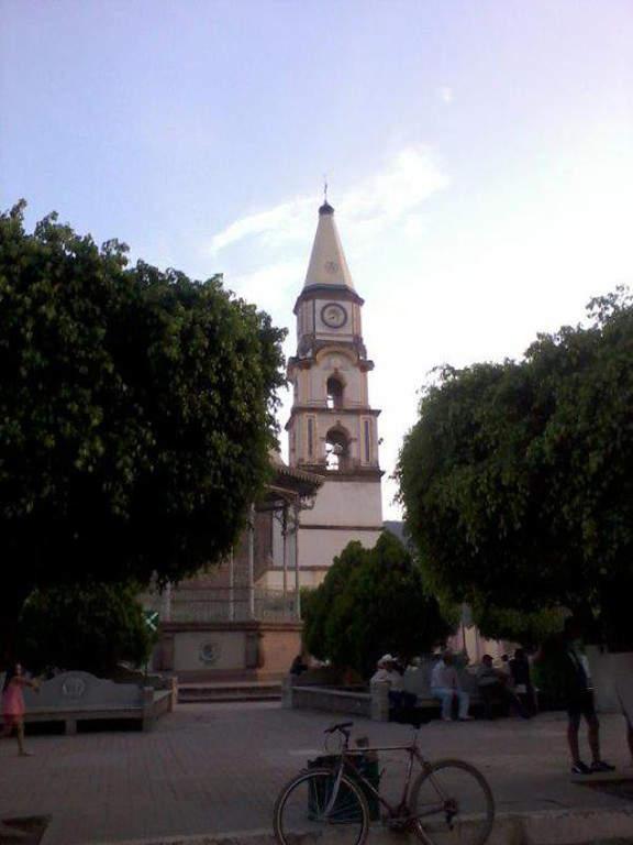 Vista de la Basílica de Nuestra Señora de los Dolores en Mascota