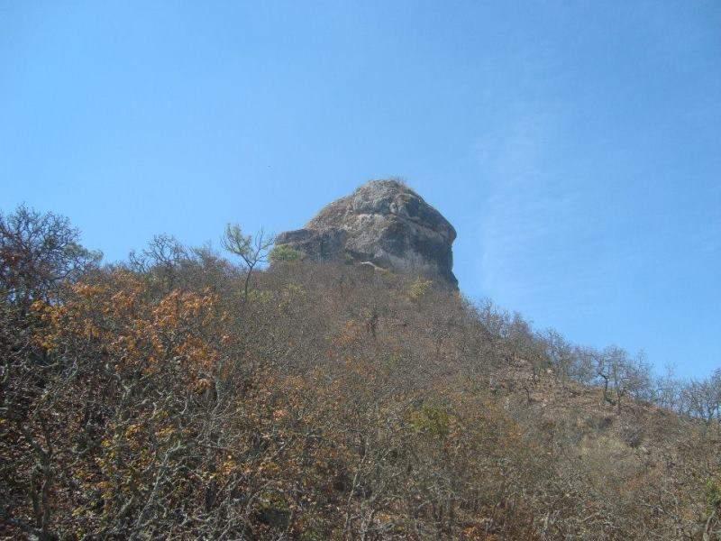 Piedra La Narizona en los alrededores de Mascota