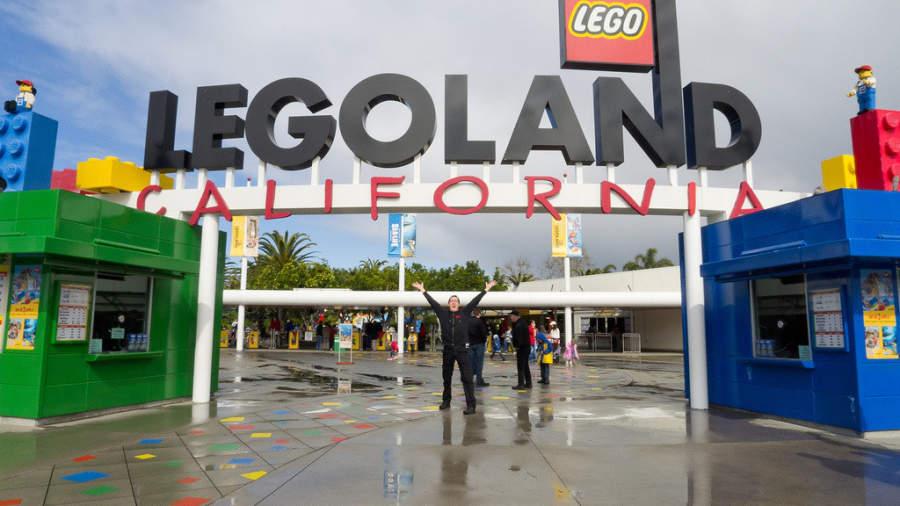 Diviértete en el parque temático LEGOLAND® California