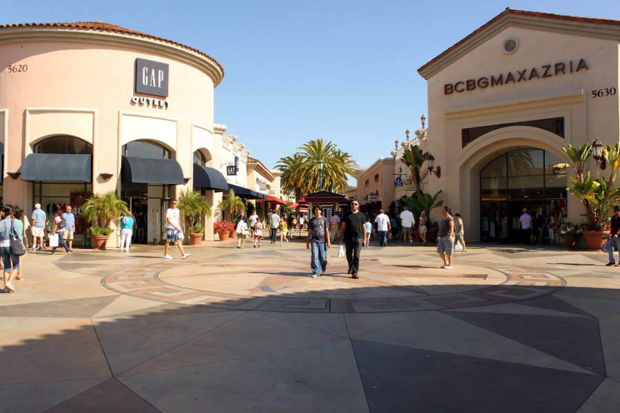 Centro comercial Carlsbad Premium Outlets