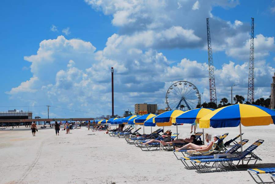 Daytona Beach adoptó el apodo de la Playa Más Famosa del Mundo