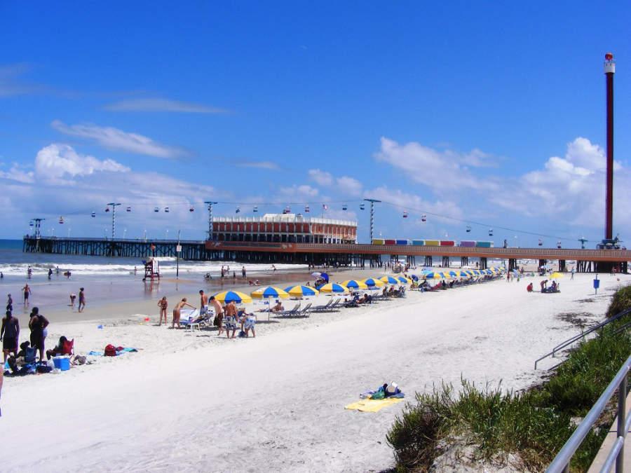 Muelle de la ciudad de Daytona Beach, Florida