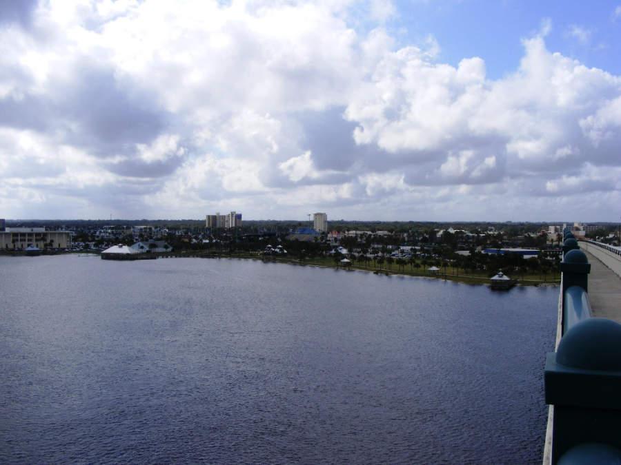 Vista de la ciudad de Daytona Beach, en Florida