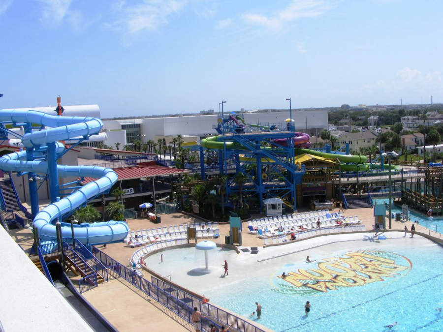 Parque acuático Daytona Lagoon en el centro de Daytona Beach