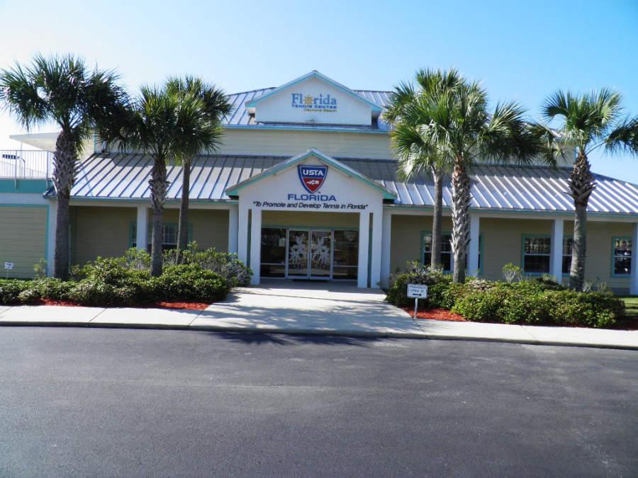 Centro de Tenis de Florida situado en la ciudad de Daytona Beach