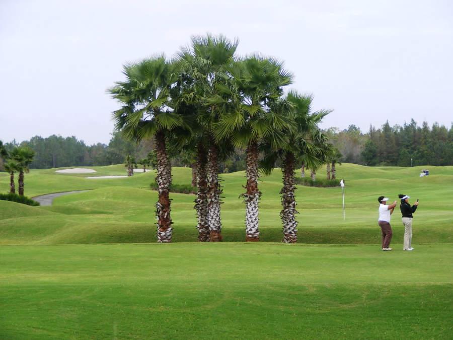 Campo de golf en la ciudad de Daytona Beach