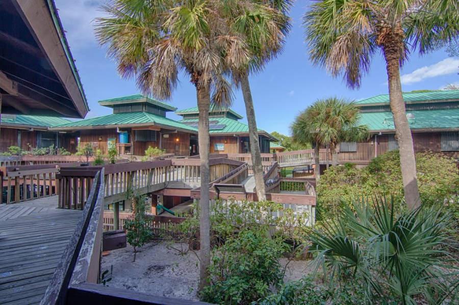 Centro Natural Gumbo Limbo en las costas de Boca Ratón, Florida